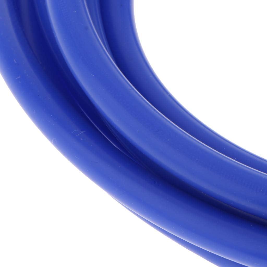 perfk 3 Meter 10 mm Unterdruckschlauch Vakuumschlauch Saugschlauch aus Silikon Blau