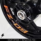 Yamaha FZ09 Inner Rim Sticker Stripe Decal