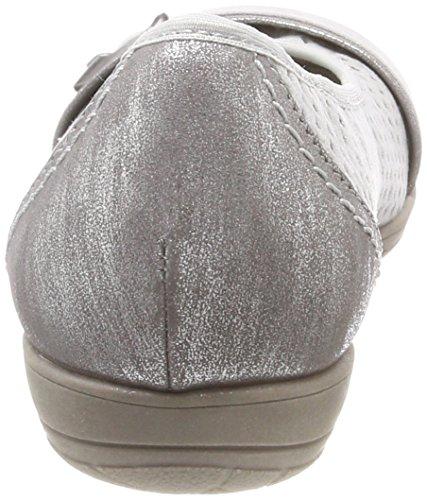 Softline Zachte Lijn 22160-20 - 204 Lichtgrijze (textiel) Damesschoenen