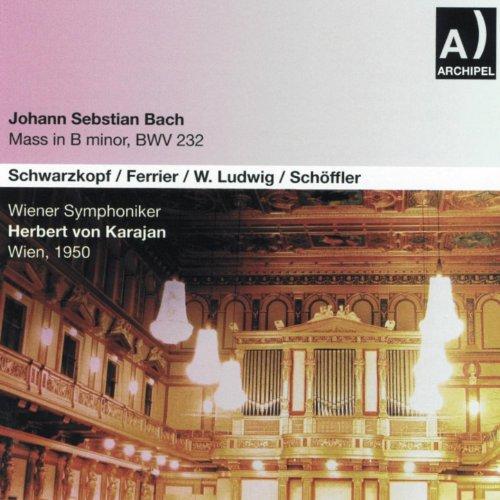 Johann Sebastian Bach : Mass In B minor, BWV 232 (Wien 1950)