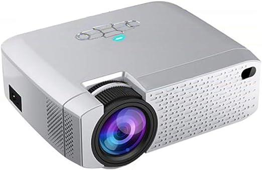 AXDNH Proyector Minl, HD Casa 1080P TV sin Pantalla Internet por ...