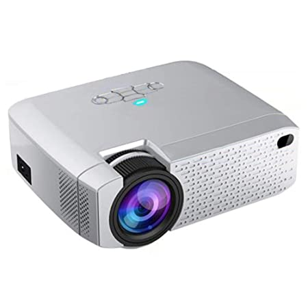 AXDNH Proyector Minl, HD Casa 1080P TV sin Pantalla Internet ...