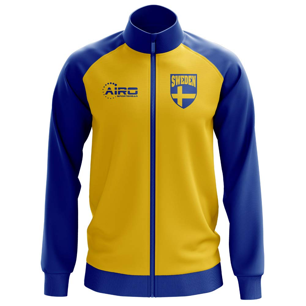 Airo Sportswear Sweden Concept Football Track Jacket (Yellow) - Kids