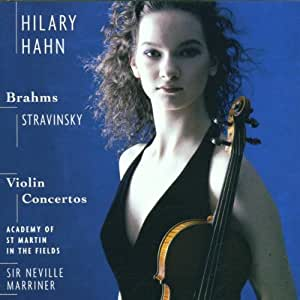 Stravinsky/Brahms: Vn Con