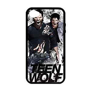iPhone 4 Case, [Teen Wolf-Tyler Posey] iPhone 4,4s Case Custom Durable Case Cover for iPhone4s TPU case (Laser Technology)