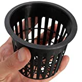 Premium Net Pots: 50-pack. 3-inch net cups, for hydroponics, aquaponics and orchids. For Sale