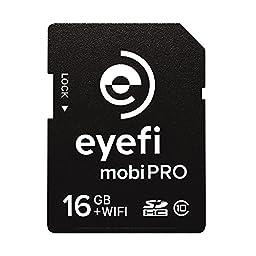 Eye-Fi Mobi Pro 16GB WiFi SDHC CARD + 1 year Eyefi Cloud