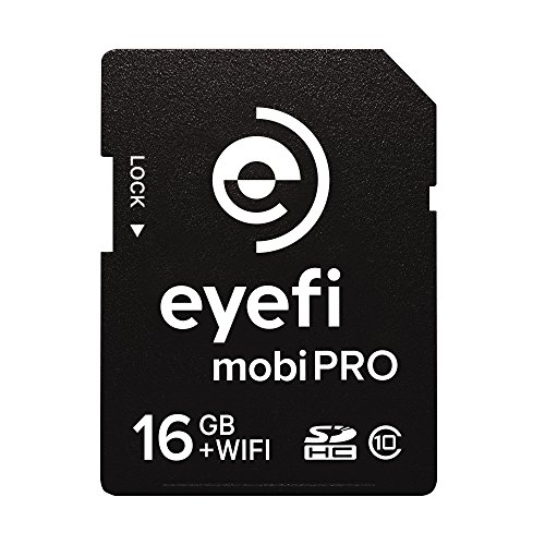 Eye-Fi Mobi Pro 16GB WiFi SDHC CARD + 1 year Eyefi Cloud