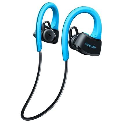 P10 Auricular Bluetooth, Ipx7 Auriculares EstéReo InaláMbricos A Prueba De Agua para El Deporte,