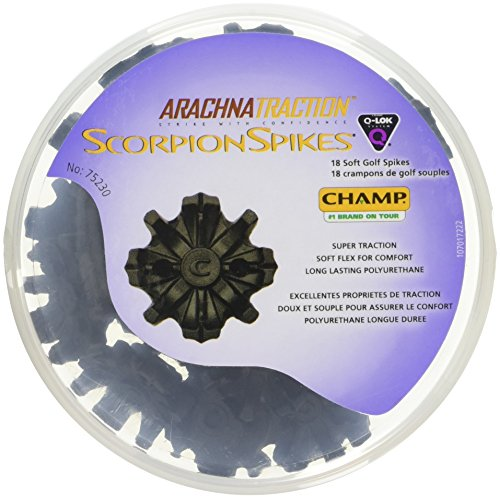Champ - Scorpion Spikes (18 Pcs) (Champ Scorpion Golf Spikes)