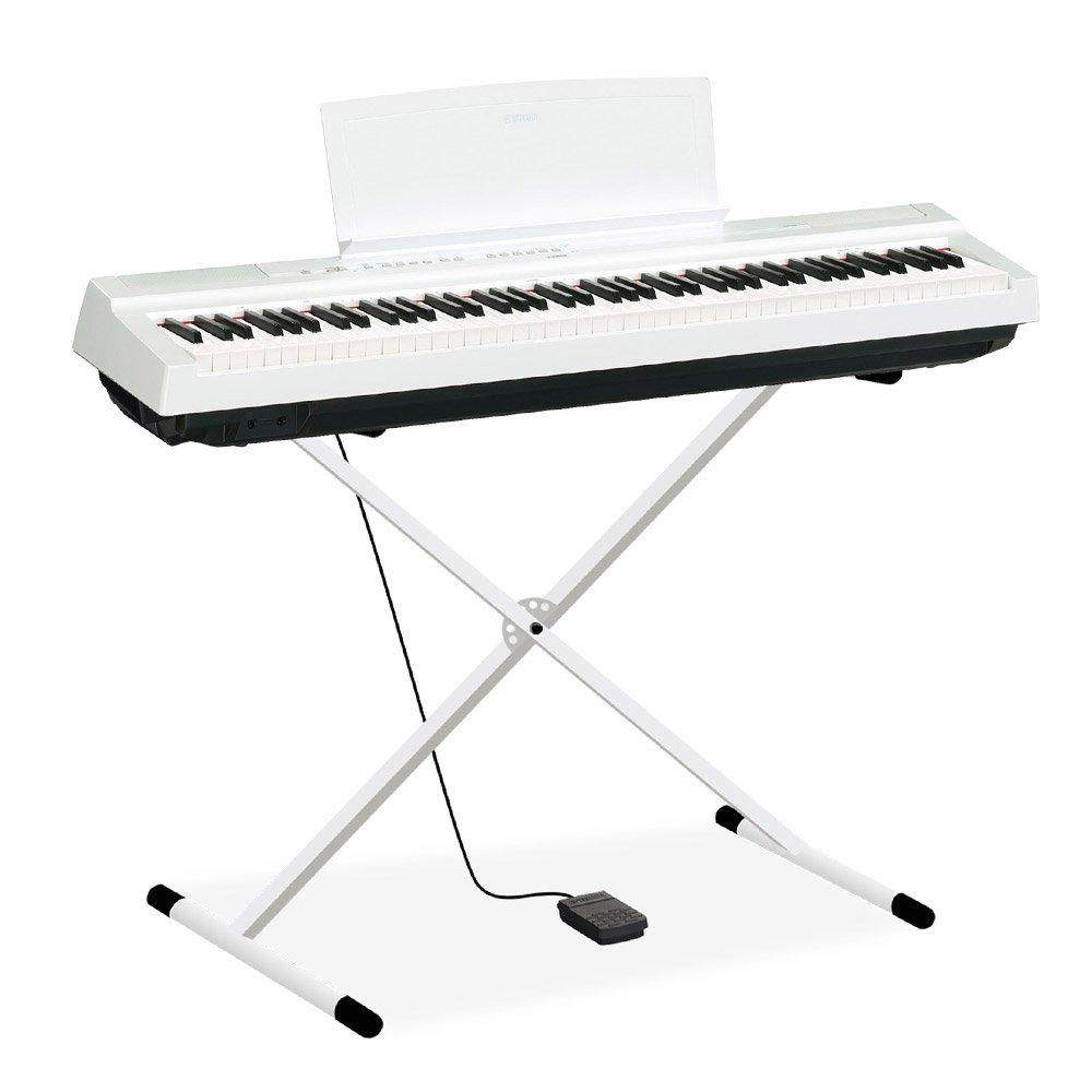直送商品 YAMAHA P-125 88鍵盤 WH YAMAHA X型スタンドセット 電子ピアノ WH 88鍵盤 ヤマハ B07DCMDJCB, 家具のマルケン:a6d58244 --- arianechie.dominiotemporario.com
