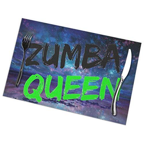 Zumba Queen Teacher Instructor Mom Mama Galaxy Gift