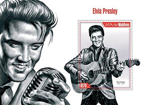 Maldives 2013 Elvis Presley Stamp Souvenir Sheet Scott 13E-049