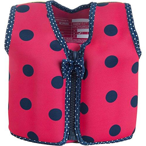 The Original Konfidence Children's Swim Jacket - Pink/Nav...