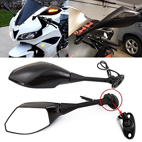 Led Motorcycle Mirror Turn Signals - 8