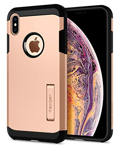 Spigen Tough Armor Designed for Apple iPhone Xs MAX Case (2018) - Blush Gold