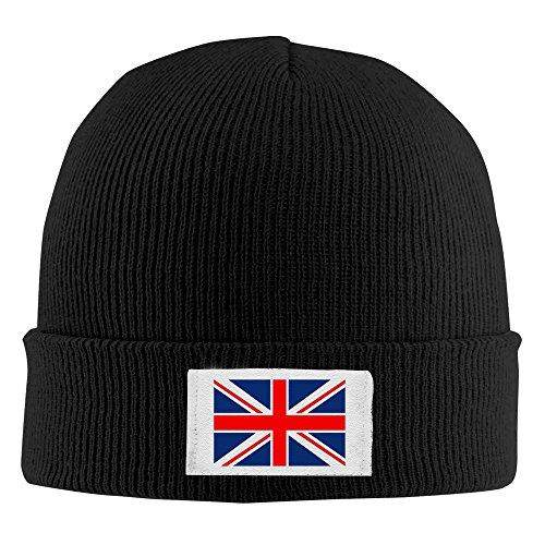 Reino marino Cap gorro cálido Negro lana invierno Unido Union bandera punto azul Jack de rnxq7wZ4Br