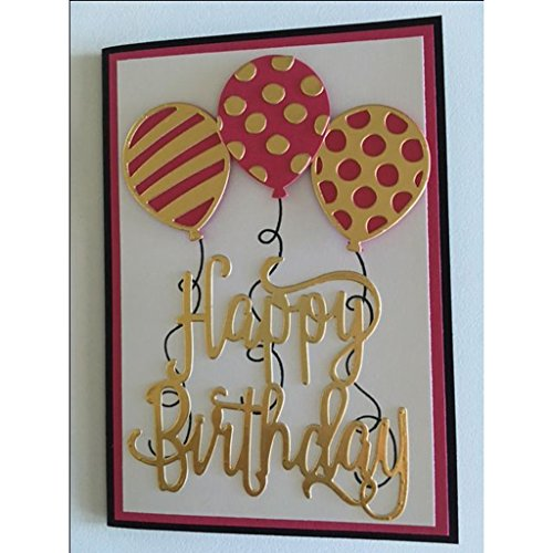 Yeahii Balloon Cutting Dies Stencil DIY Scrapbooking Embossing Album Paper Card Crafts by Yeahii (Image #5)