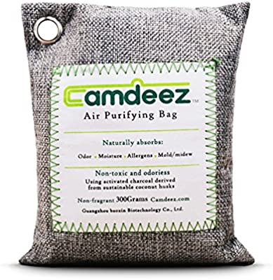 Camdeez Air Purifying Bag Coconut-Shell Activated Charcoal Naturefresh,Odor Air