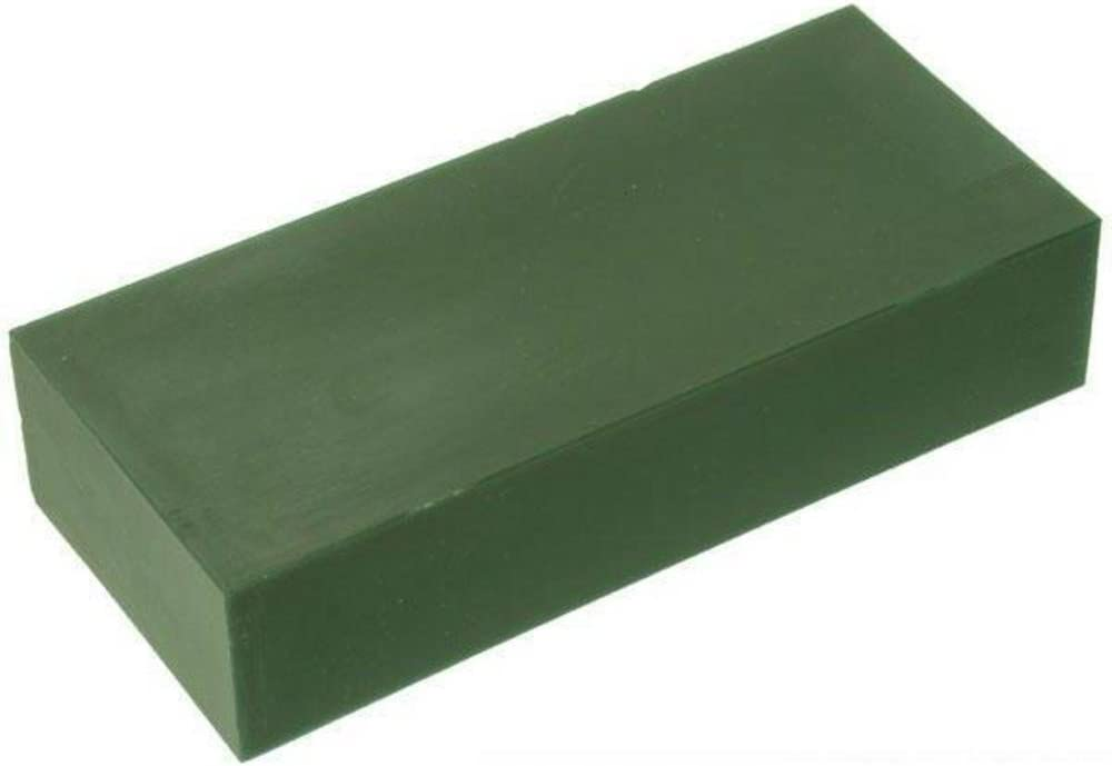 CASTING WAX MATT BAR GREEN 1 LB
