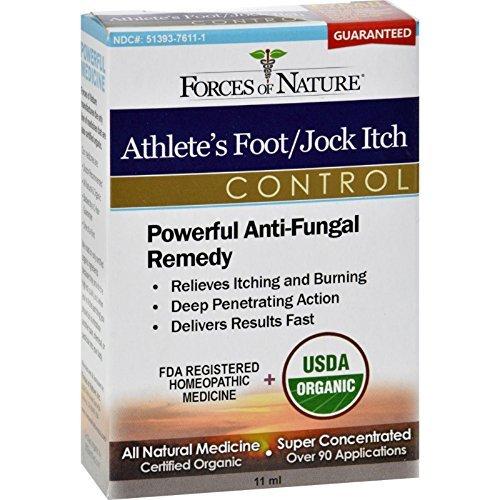 Forces Of Nature Athlete'S Ft/Jck Itch Og2 11 Ml