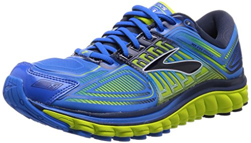 da41afe040f Brooks Men s Glycerin 13 Electric Blue Lemonade Lime Punch Dress Blues Athletic  Shoe (B00QH152CW)