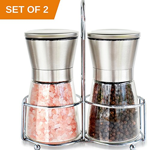 Premium Stainless Steel Pepper Grinder product image
