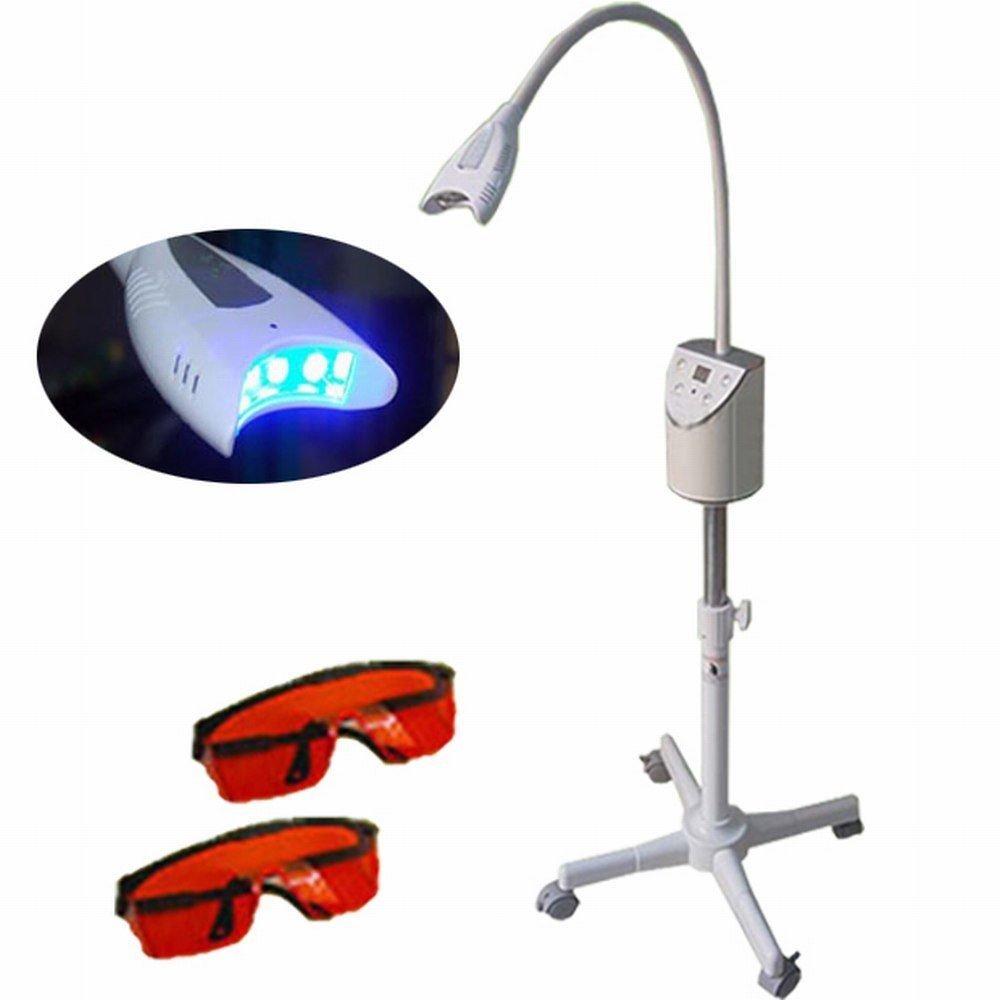 Zgood Teeth Whitening Dental Bleaching Tooth Friendly LED Light Bleaching Machine Lamp Wiht Two Glasses