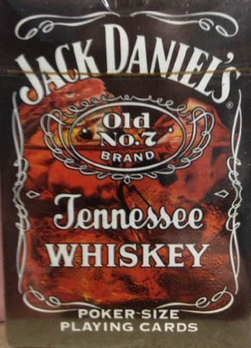 Jack Daniel's Old No.7 Tennessee Whiskey Poker Size Playing Cards