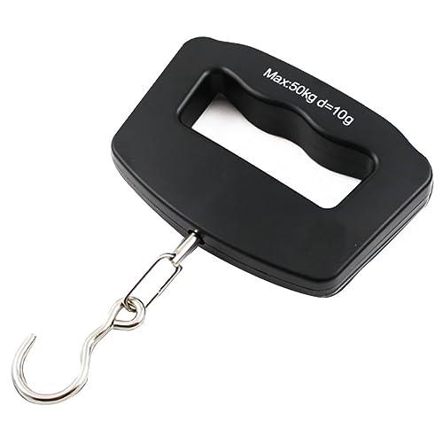 DXMCC balanza portátil mini báscula electrónica balanza de 50 kg balanza de pesaje báscula balanza de mano balanza manual de alta precisión: Amazon.es: ...