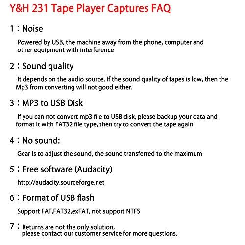 & amp; H 카세트 테이프 플레이어 레코드 테이프를 MP3 디지털..