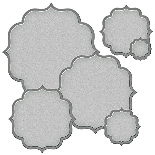 Spellbinders S4-576 Nestabilities Labels Fifty Nestabilities Etched/Wafer Thin Dies