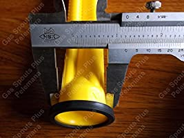 NEW Scepter Spout Kit Jerry Gas Can 4 Piece Parts 03647 Stopper Vent Screw Cap
