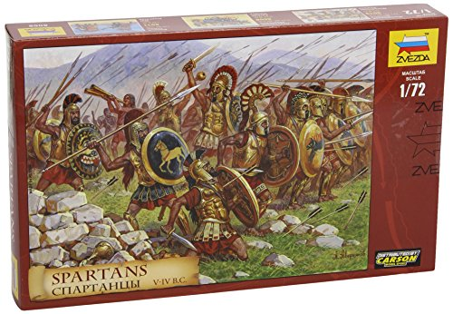(Zvezda Models 1/72 Spartans The Greek Warriors)