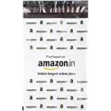 DCG PAC Amazon Branded Polybags/Bags/Pouches 50 Microns Without Pod ( 8X11 Inches) Pack Of 100