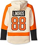 NHL Philadelphia Flyers Eric Lindros Men's Player Lacer Name & Number Hoodie, Small, Multicolor