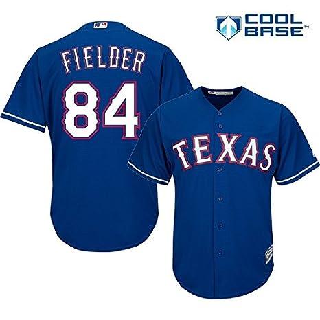 Amazon.com   Majestic Prince Fielder Texas Rangers  84 MLB Youth ... ac20546e1