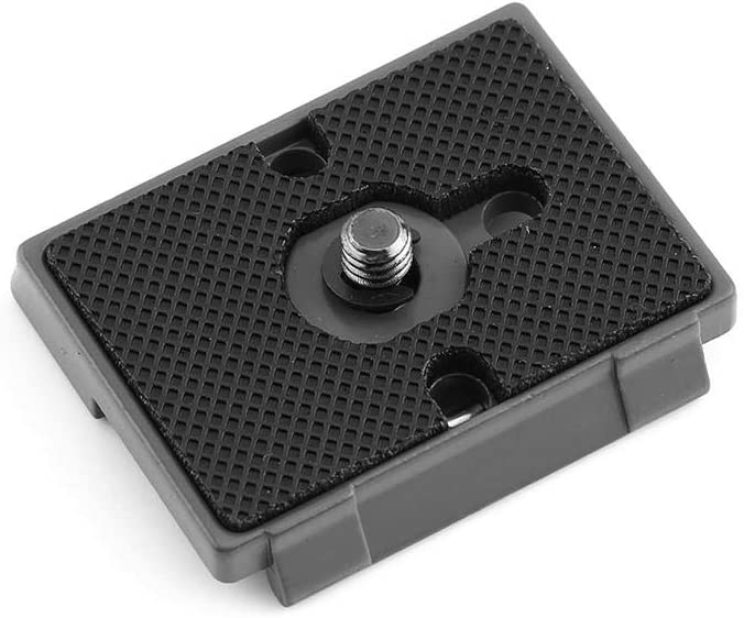 Camera Mounts /& Clamps Bewinner 1//4 Screw Hole Quick Release Plate Metal Alloy Camera Fit Plate Compatible for 200PL-14 Quick Release Plate Professional for Digital SLR Camcorders