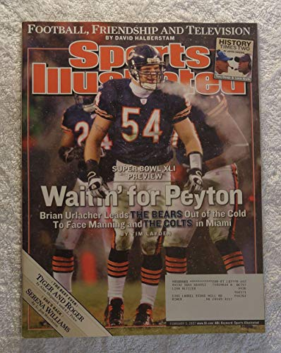Brian Urlacher - Chicago Bears - Super Bowl XLI Preview - Sports Illustrated - February 5, 2007 - Indianapolis Colts - ()