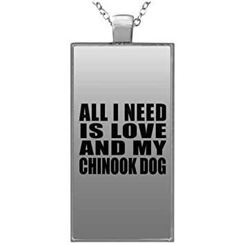 6d72124bbe08 Designsify Dog Lover Best Gift Idea All I Need is Love and My Chinook Dog -