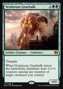 Magic: the Gathering - Verdurous Gearhulk (172/264) - Kaladesh