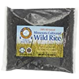 Red Lake Nation 100% All Natural Minnesota Cultivated Wild Rice, 12-Ounce (Pack of 4)