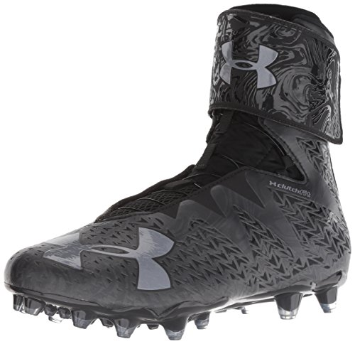 Under Armour Men's Highlight MC 2.0 Football Shoe, 001/Black, 12.5