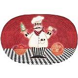 Achim Home Furnishings Braided Rug, 20-Inch by 30-Inch, Chef