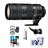 70 200 vr ii - Nikon AF-S NIKKOR 70-200mm f/2.8E FL ED VR Lens - U.S.A. Warranty - Bundle with 77mm Filter Kit, Flex Lens Shade, Cleaning Kit, Cap Leash, Software Package