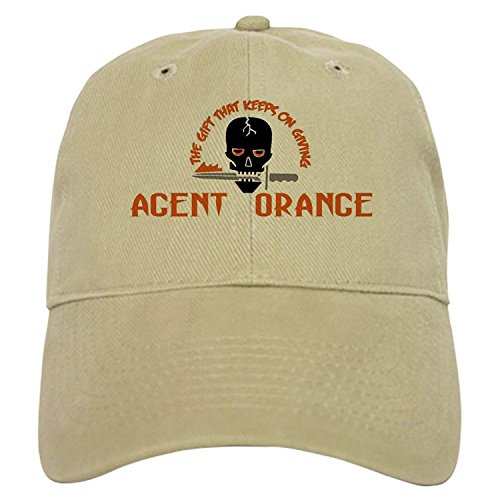 Agent Hat - Agent Orange: The Gift Cap - Baseball Cap with Adjustable Closure, Unique Printed Baseball Hat