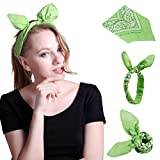HDE Women's Rockabilly Fashion Hair Band Wrap Bunny - Best Reviews Guide