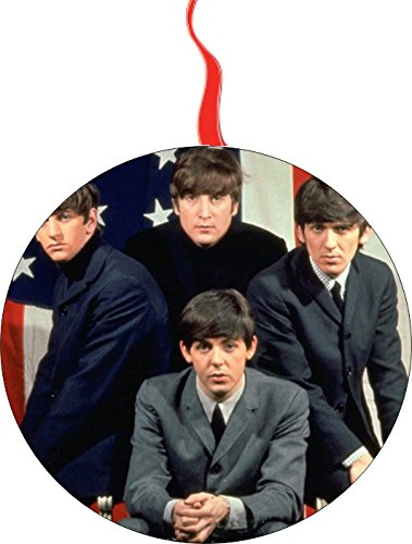 (Beatles Christmas Tree Holiday Ornament Printed Double- 2 Sided Decoration Great Unisex)