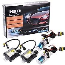 XCSOURCE 55W HID Xenon Light Headlight Lamp Conversion Kit H8/H11 8000K Replacement Bulb MA101