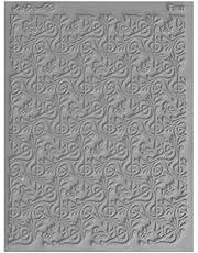 "Great Create Lisa Pavelka Individual Texture Stamp 4.25""X5.5"" 1/Pkg-Fleur"